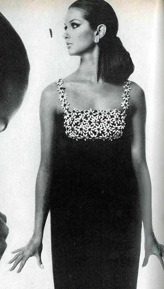 Veronica Hamel ~ photo by Bert Stern ~ Vogue US ~ Sept. 1966