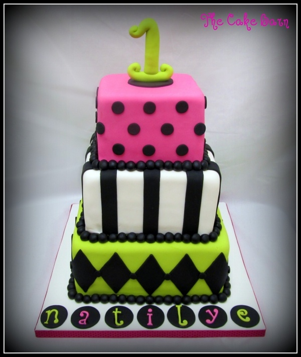 Hot Pink And Lime Green Birthday Cakes 23 Best 18th Stuff Images On Pinterest