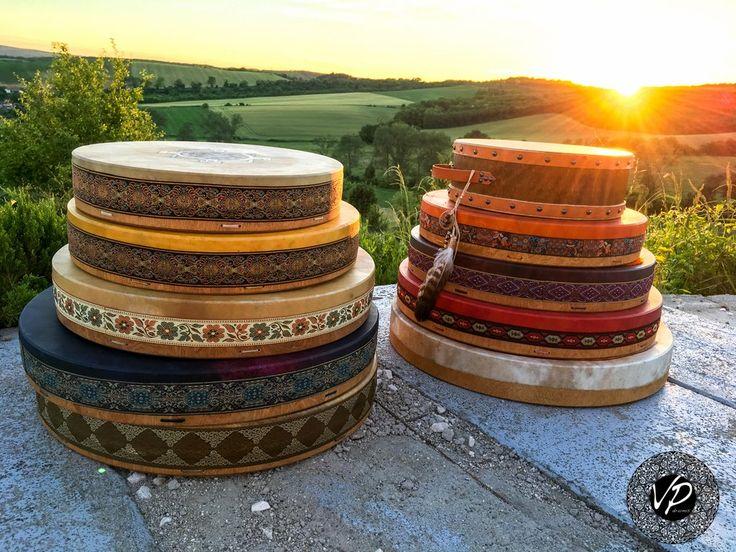 Custom made Shaman drum, Frame drum 18'- 20'                      – VPdrums