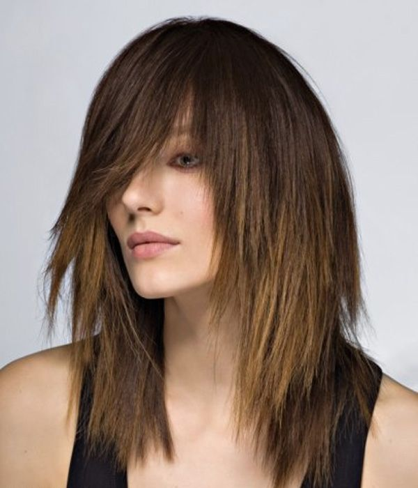 12 best cortes de pelo escalonados images on Pinterest Hairdos