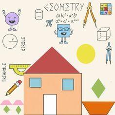 Poesía para enseñar las figuras geométricas a los niños.
