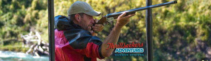 Claybird Shooting - Thrillseekers