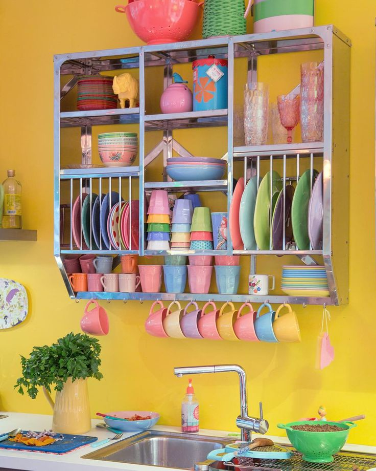Colorful Kitchen Decor Pictures: Best 25+ Funky Kitchen Ideas On Pinterest
