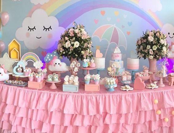 Ideas Adornos Baby Shower.Cloud Party Love Rain Theme Ideas Adornos Baby Shower