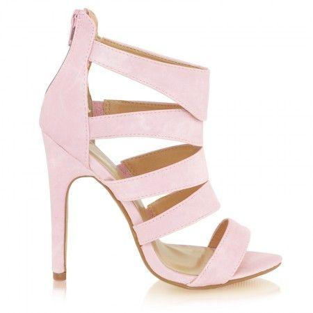 Sandały Ravish Pink Pu / Obuwie damskie - www.StyloweButy.pl