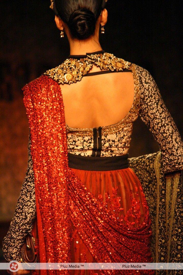 Splendid detailing at Sabyasachi's Delhi Couture Week show.