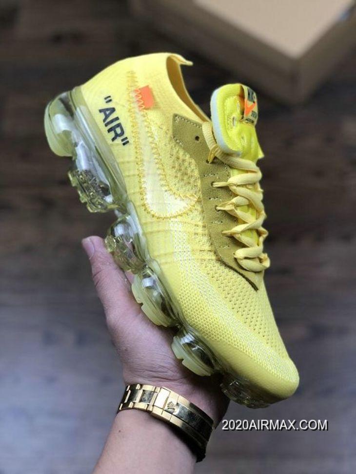 Men OFF WHITE X Nike Air VaporMax Running Shoes SKU:139323