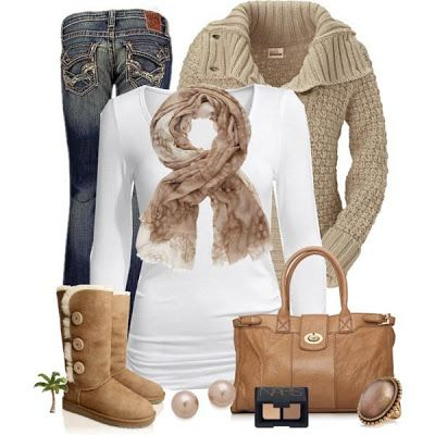 Pretty outfits for women-Google search. Proof you can be stylin' while staying comfortable