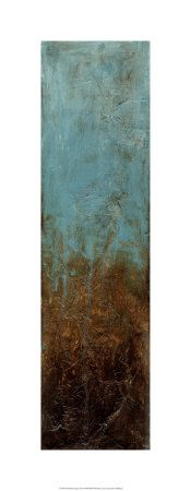 Oxidized Copper by Jennifer Goldberger.  Now this would liven up my dining room walls. I love the combination of changing copper. Hmmm