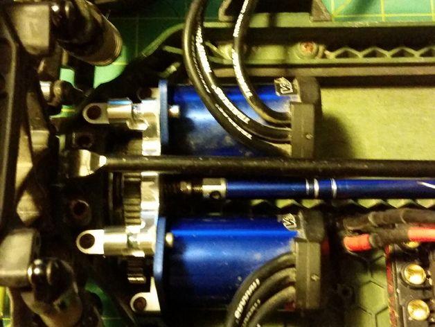 Traxxas Slash 4x4 LCG Dual Motor Mount by Roedkill - Thingiverse