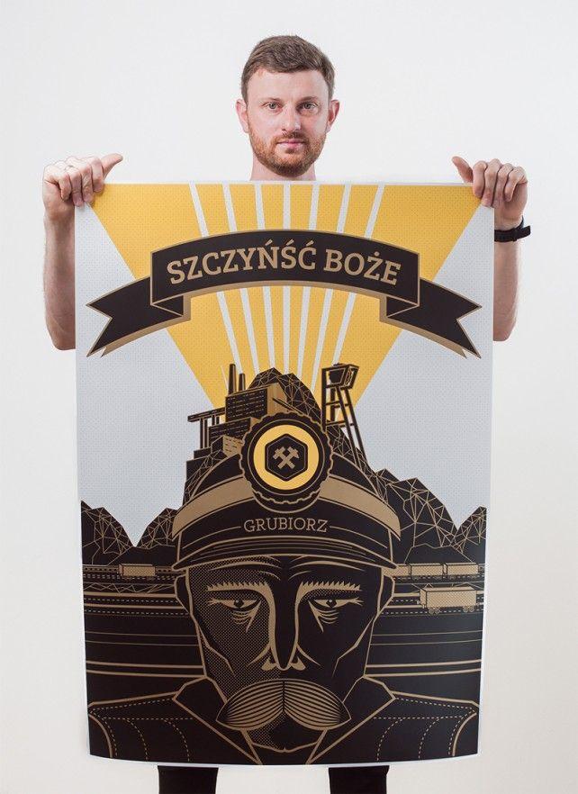 plakat grubiorz #gryfnie #poster #silesia