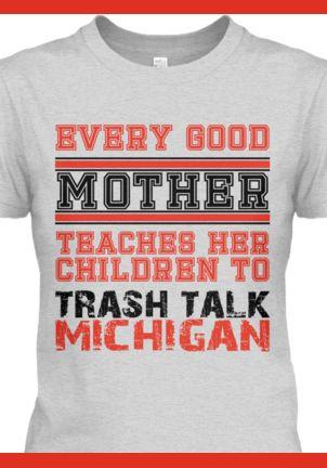 Osu Trash Talk Michigan Shirt