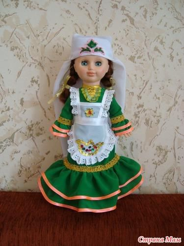 Татарский костюм для девушек