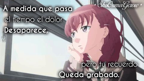 anime ShuOumaGcrow dolor amor frases frases anime sentimientos