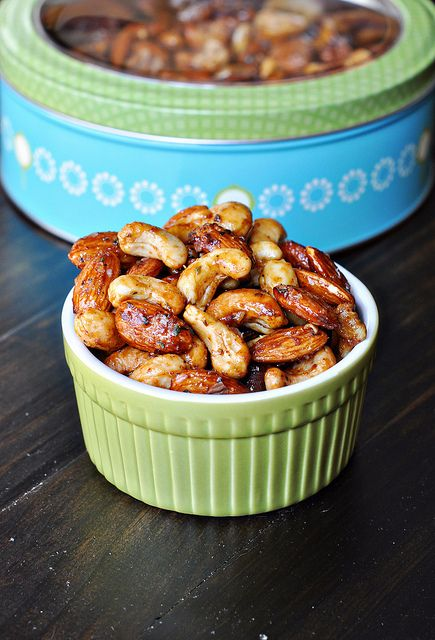 Chipotle Rosemary Roasted Nuts by Courtney | Cook Like a Champion, via Flickr