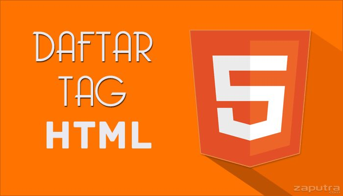Daftar Tag Kode Html Lengkap