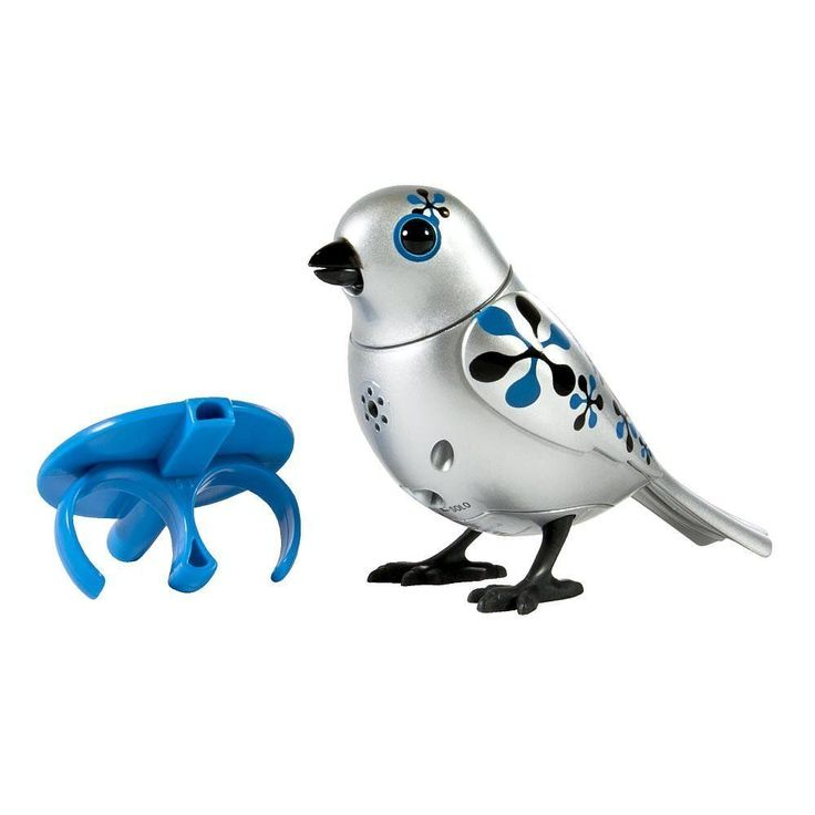Silverlit Digibird with whistle ring- Silver Limited Edition - Argento B115