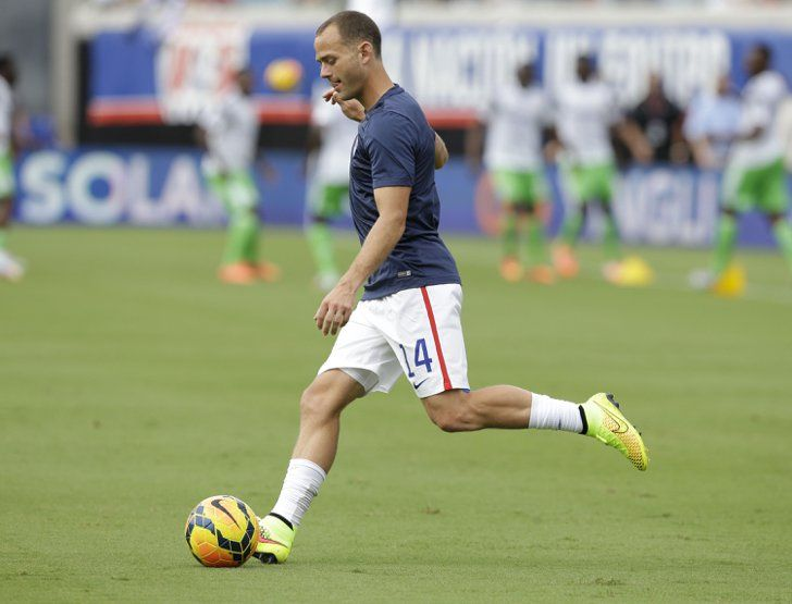Pin for Later: Meet the Soccer Studs Playing For the USA Brad Davis  Age: 32 Hometown: Saint Charles, MO Team: Houston Dynamo