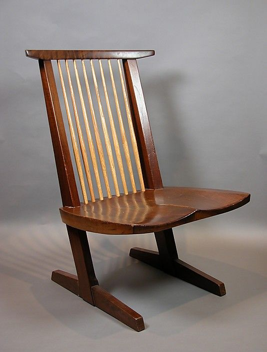 Conoid Lounge Chair by George Nakashima dated 1986-87 from Japan...part of Asian Art