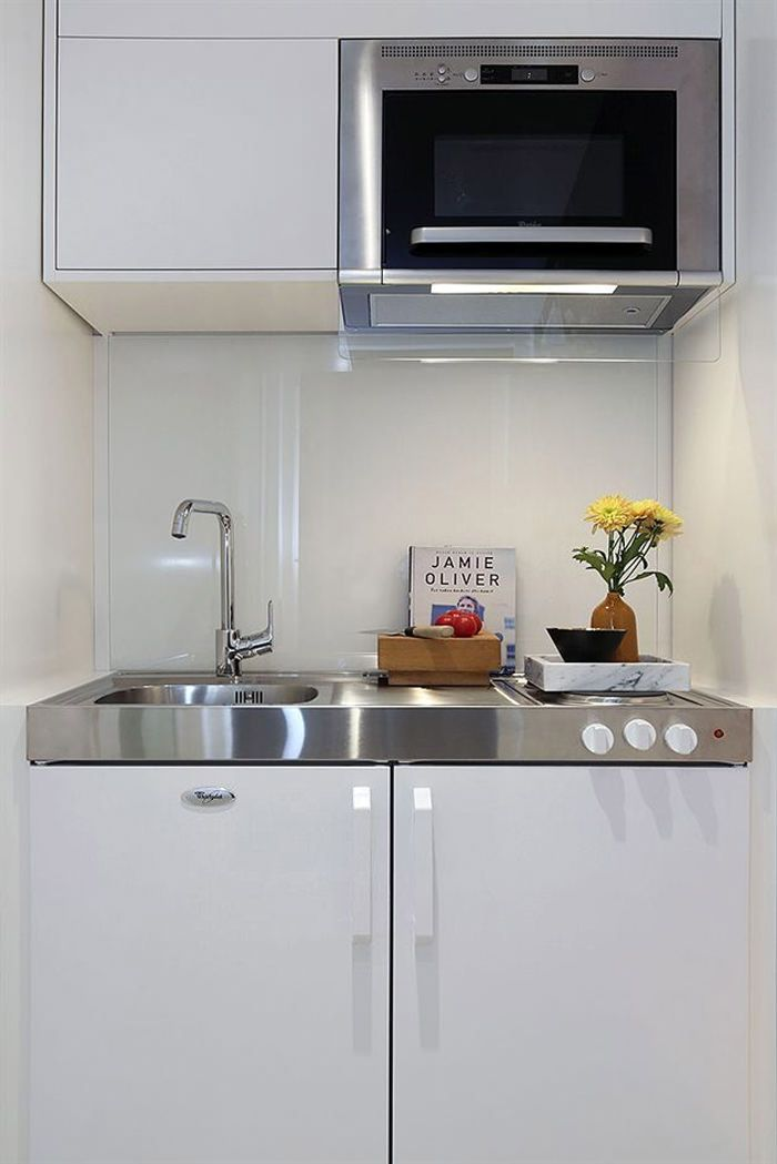 148 best amanager 1 studio images on pinterest small spaces kitchen - Amenagement studio 15m2 ...