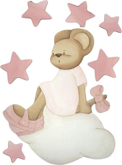 Cuadros bebes, siluetas de madera y murales infantiles de Magda Playà - Mamidecora.com