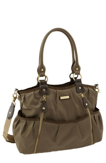 Storksak - Olivia Diaper Bag  This one looks really practical with tons of pockets. Its really cute too!