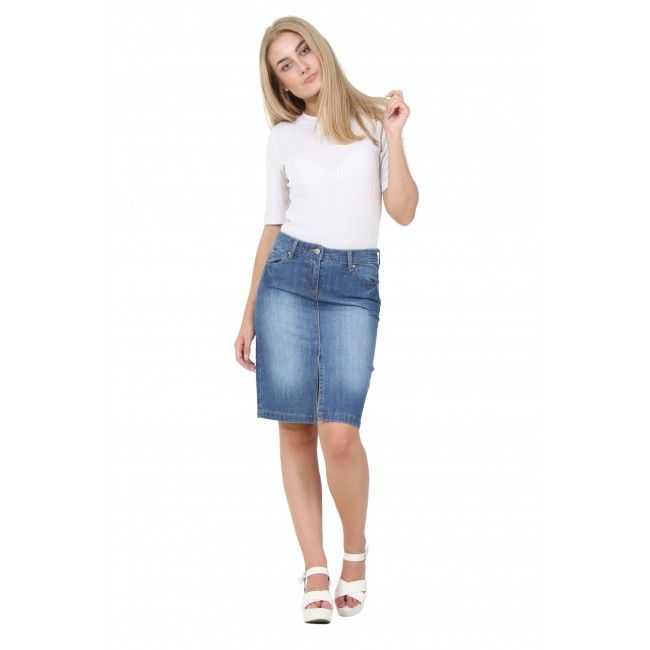 102 best Denim Skirts - long, short or midi images on Pinterest