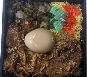 そこいらへんで。 ぶつぶつ 鹿児島黒豚炙り弁当