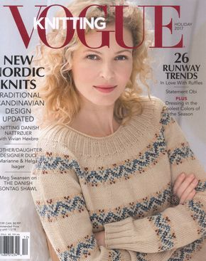 "Мобильный LiveInternet Журнал ""Vogue Knitting"" Holiday 2017г 