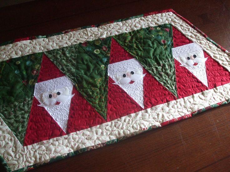 Cute Santa Table Runner