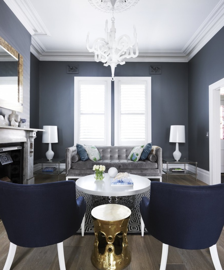 Best Greg Natale Navy Gray White Green Front Lounge 400 x 300