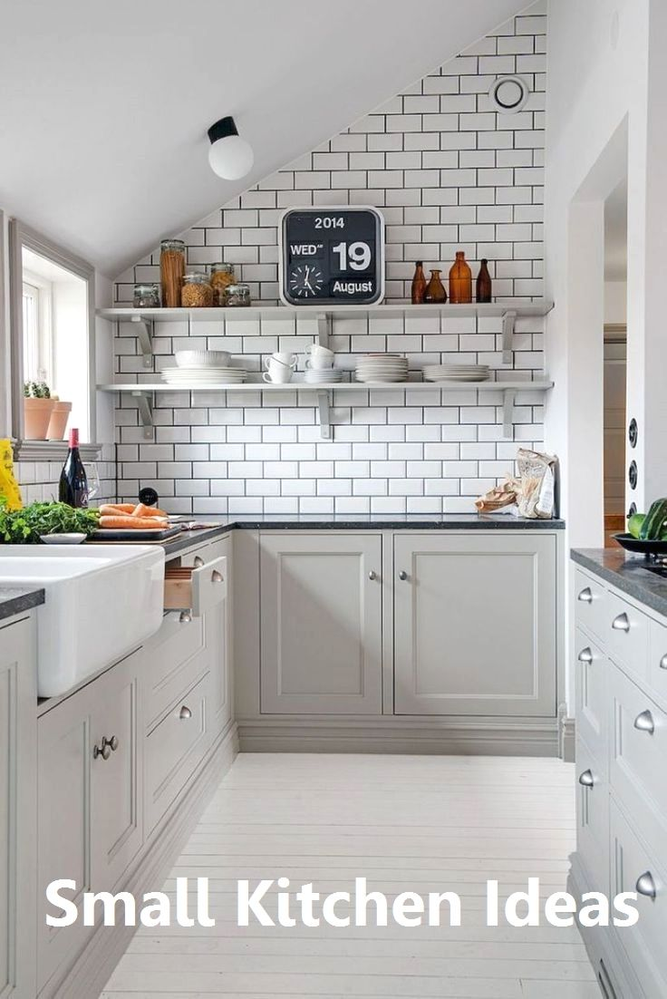 New Small Kitchen Decoration In 2020 Small Kitchen Decor Kitchen Design Small Small Kitchen