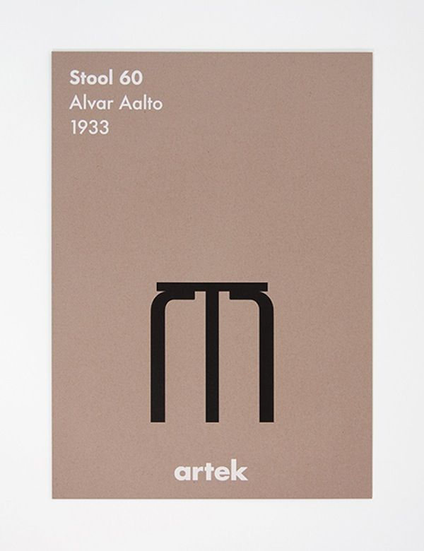 #Artek product posters.