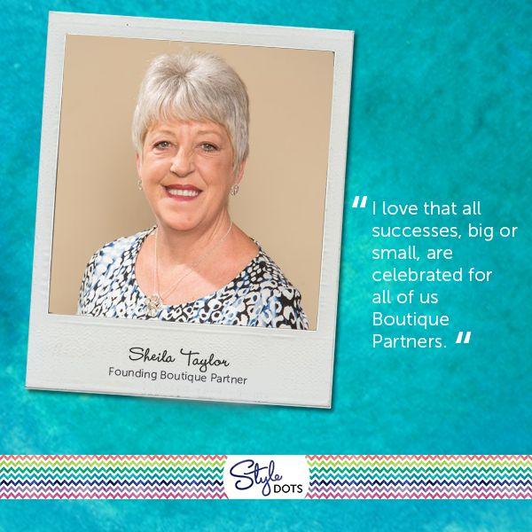 Meet Founding Boutique Partner Sheila Taylor!