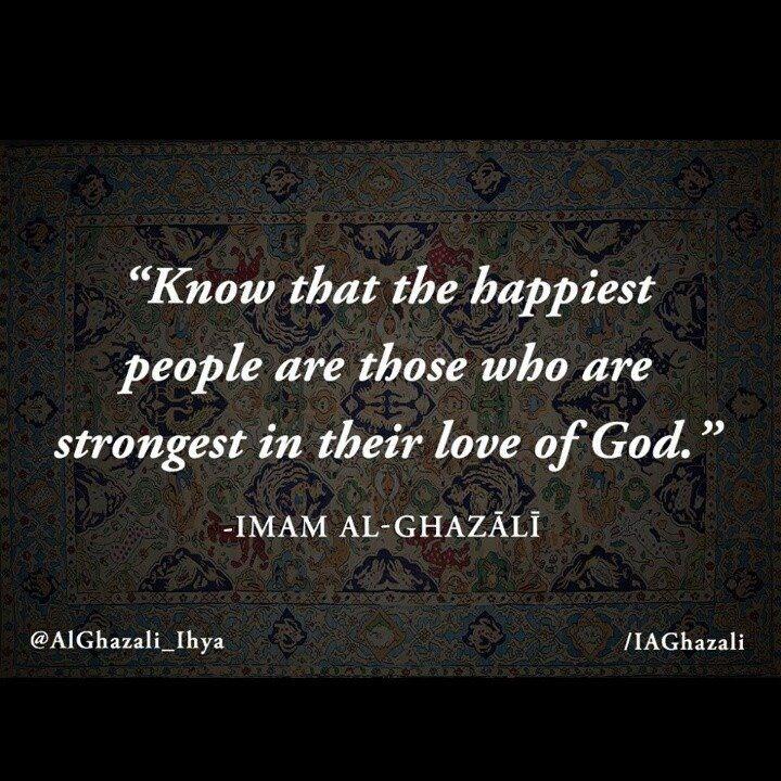 Ibn Ghazali -amazing qoute