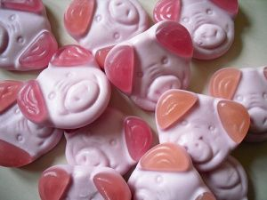 I love percy pigs
