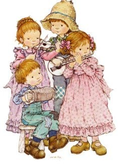 Not Holly Hobbie ---Sarah Kay and link has similar pictures by her