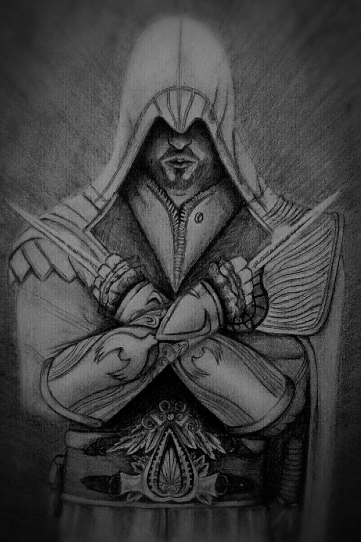 #Ezio Assassin's Creed #totally #into #these #stuff #love #drawing