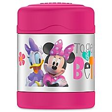 image of Thermos® Funtainer™ BPA Free 10-Ounce Minnie Mouse Food Jar