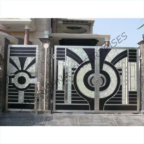 Stainless Steel Gates Garden Gate Pinterest