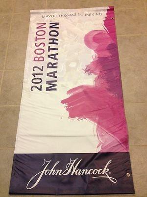 2012 Boston Marathon Street Banner