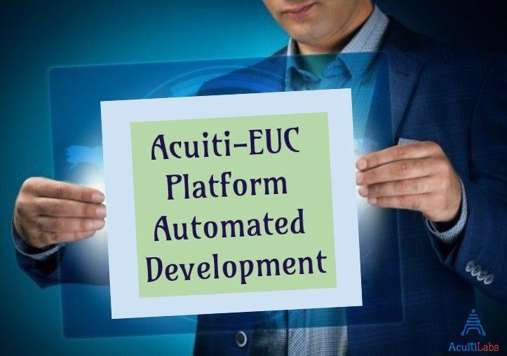Develop enterprise level, multi-channel, secure & scalable enterprise applications using Acuiti Labs EUC platform >> http://acuitilabs.co.uk/acuitirad-2/