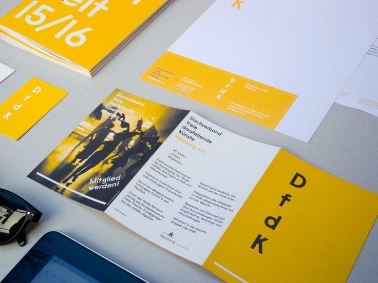 Corporate Design Dachverband freie darstellende Künste Hamburg e.V.