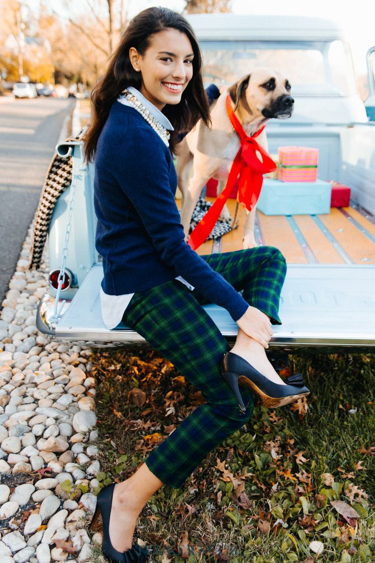 Stand out from the crowd this holiday season with our favorite plaid pants.