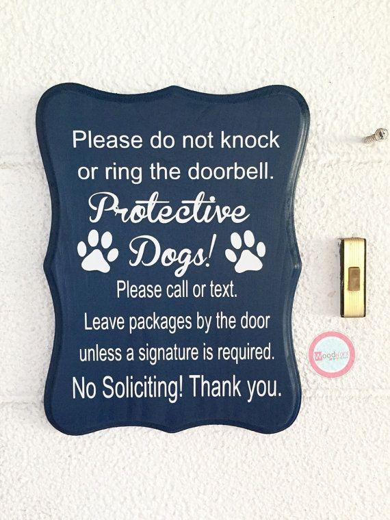 Tired of strangers ringing your door bell? Need a solution? Fix your problem with this stylish No Solicitation sign. This sign measures