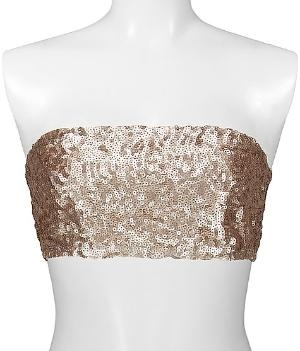 BKE Boutique Sequin Bandeau Top - Women\'s Shirts\ Tops | Buckle