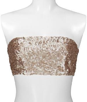 BKE Boutique Sequin Bandeau Top - Women\'s Shirts\ Tops | Buckle
