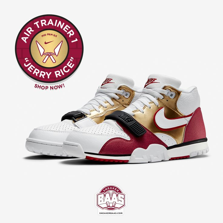 "#nike #nikeair #airtrainer #airtrainer1 #airtrainerone #jerryrice #bricklayer #sneakerbaas #baasbovenbaas  Nike Air Trainer 1 ""Brick Layer"" - Shop now!  For more info about your order please send an e-mail to webshop #sneakerbaas.com!"