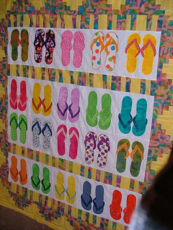 32 Best Images About Flip Flop Quilt On Pinterest Quilt