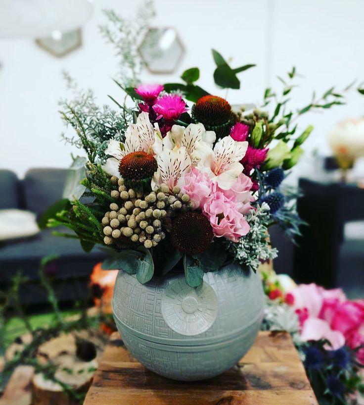 Star Wars Death Star Floral Arrangement